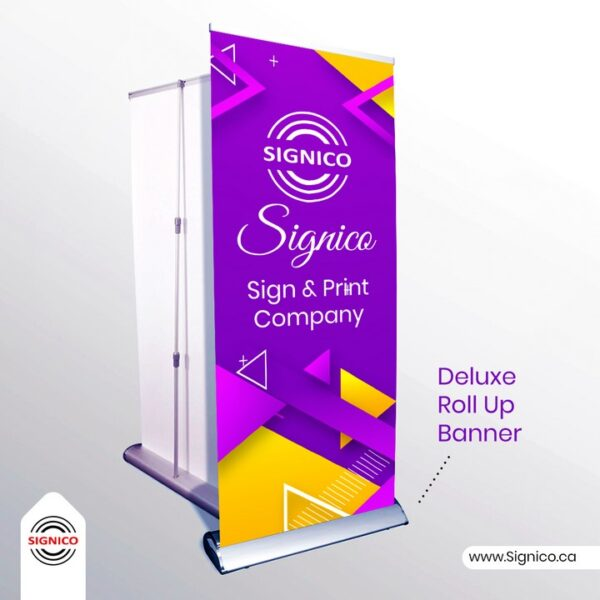Deluxe Roll Up Banner Signico