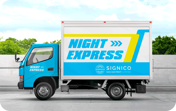 Box Truck Wrap Category Banner